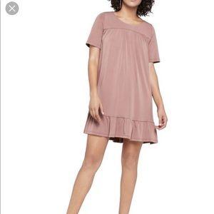 BCBGeneration Mauve Shift Dress, Size M
